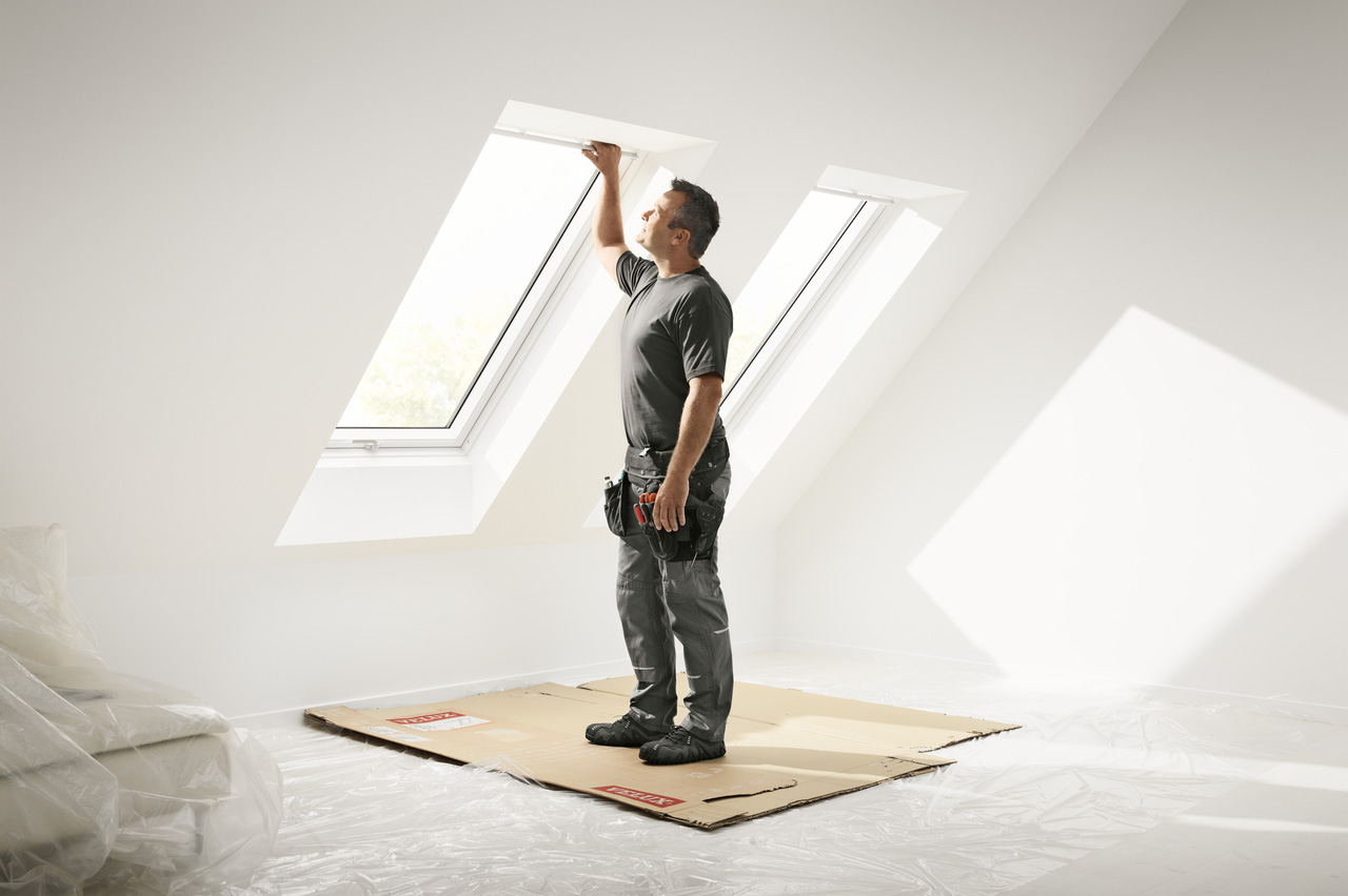 VELUX Dachfenster Austausch leicht gemacht, VELUX Handwerker